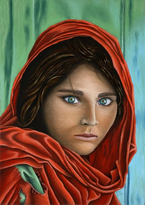 The Afghan Girl - National Geographic
