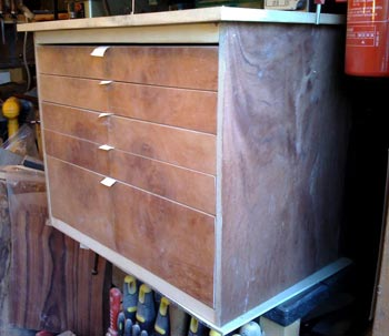 Art Cabinet Veneered